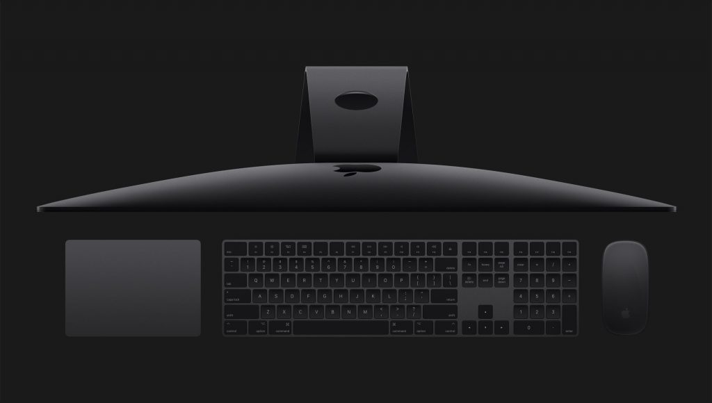 iMac Pro image supplied from Apple