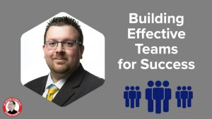 Skillshare cover item for building effective teams for success course.